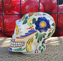 "Gorky Ceramic Skull 6"" Height Multicolors"