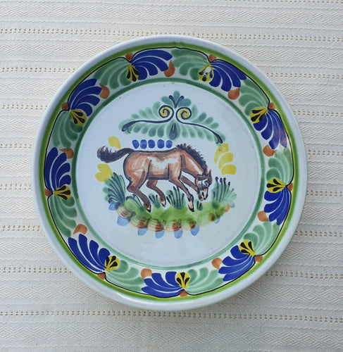Horse Decorative / Serving Deep Round Platters Multi-colors