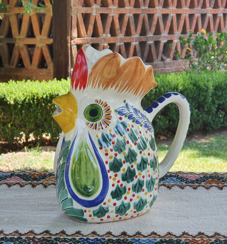 Rooster Water Pitcher 10