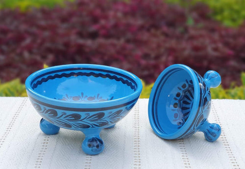 Footed Bowls Set of 2 Choose Your Favorite Color
