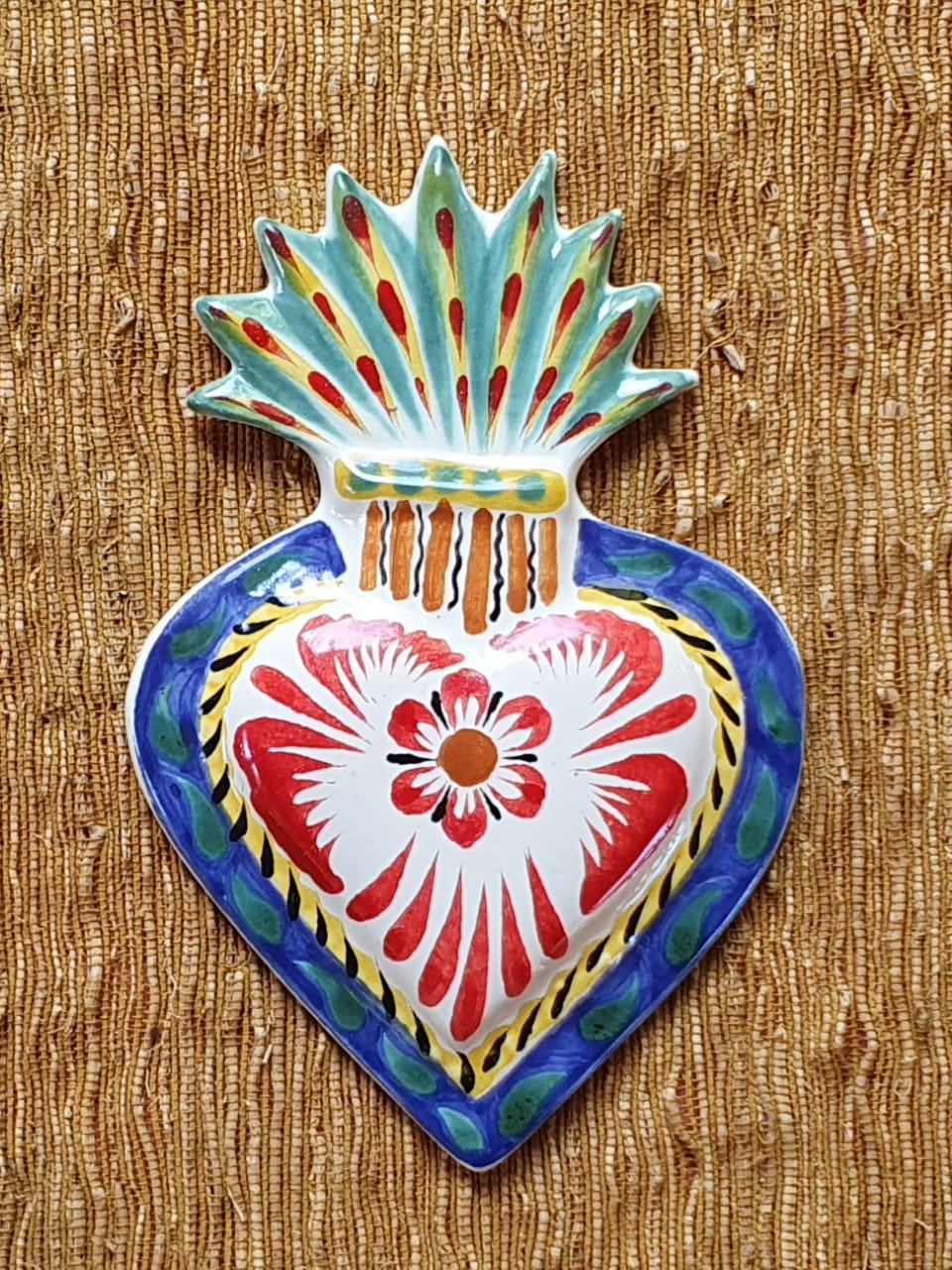Ornament Sacred Heart Multi-colors