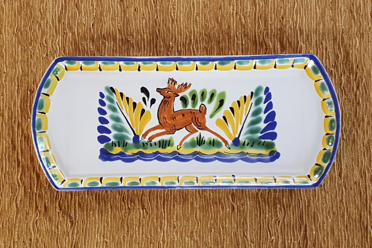 Deer Large Tray 14 x 6