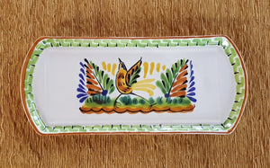 "Bird Large Tray 14 x 6"" Multicolors"