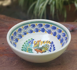 Rooster Cereal/Soup Bowl 16.9 Oz Multi-colors