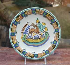 Deer Plates Multi-colors