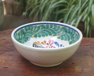 Butterfly Cereal/Soup Bowl 16.9 Oz Multi-colors