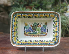 "Bird Rectangular Bowl 11*7.9"" Multi-colors"