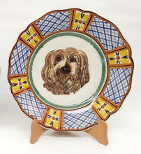 "Custom Made Dog Plate 11"" D Colors II (place your order and send us the picture of your friend!!)"