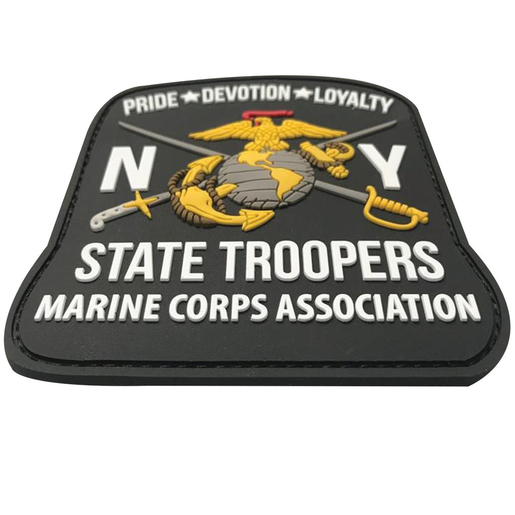NYST MCA - 3D PVC velcro patch