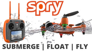 Spry: The waterproof drone that can both fly and be submerged in water!