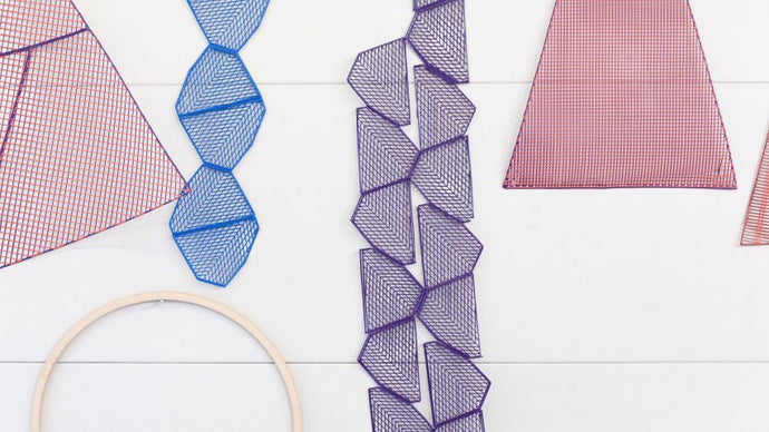 3D printed rugs showcased at the London Design Festival