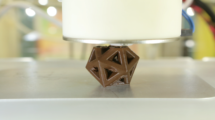 Chocolate 3D printer...Yes please!