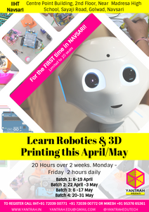 Navsari's first Robotics & 3D Printing Workshop