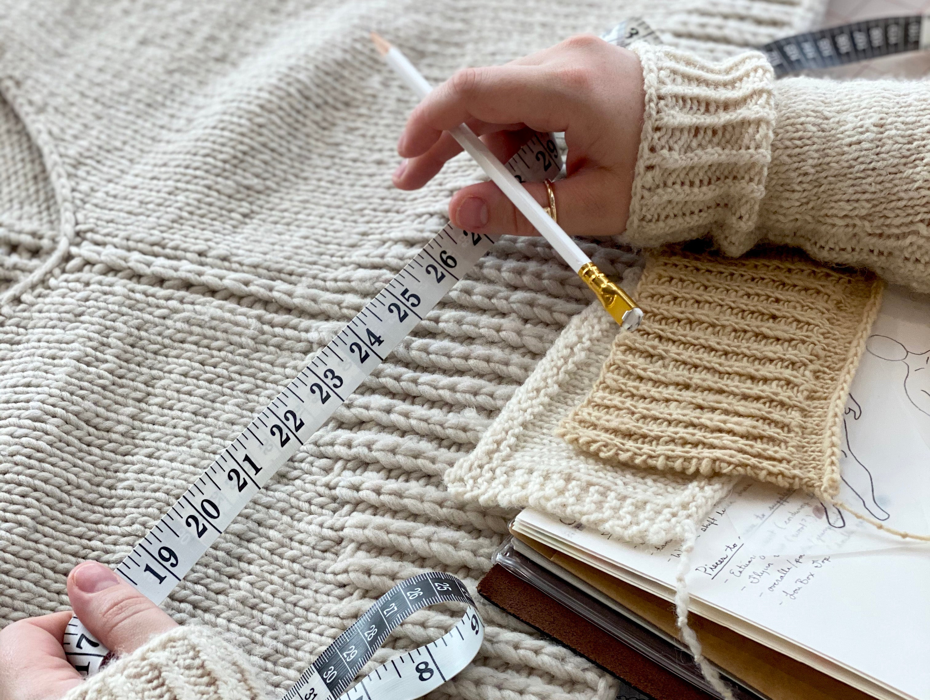 Knitting Math for Curves with Jacqueline Cieslak - IN MAY