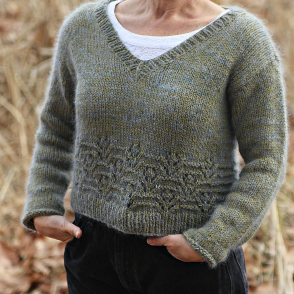 Cedro Sweater Kit by Baby Cocktails