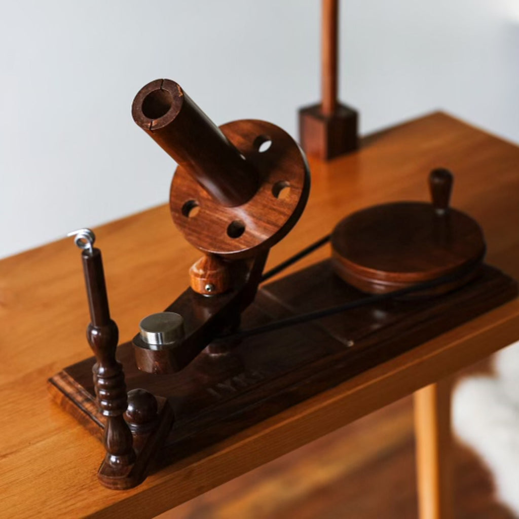 Indian Rosewood Ball Winder from Lykke (Preorder)