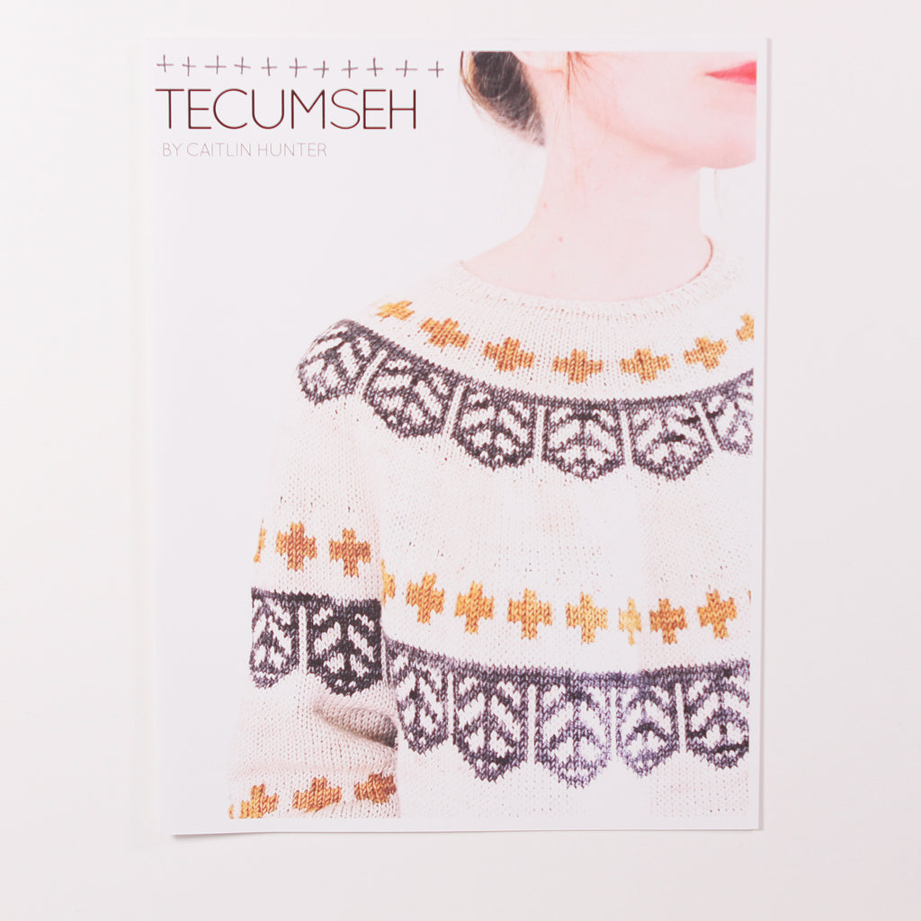 Tecumseh Sweater by Caitlin Hunter - Printed Pattern