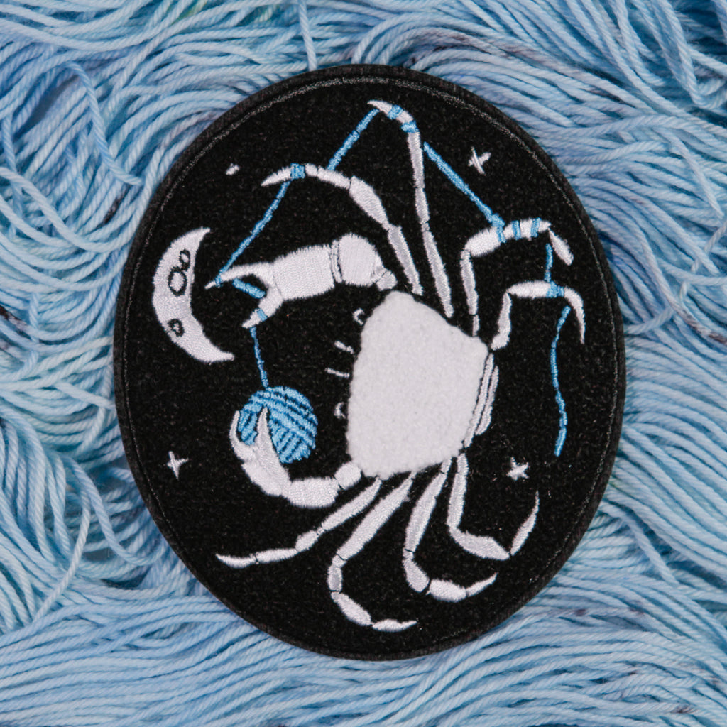 Zodiac Chenille Patches