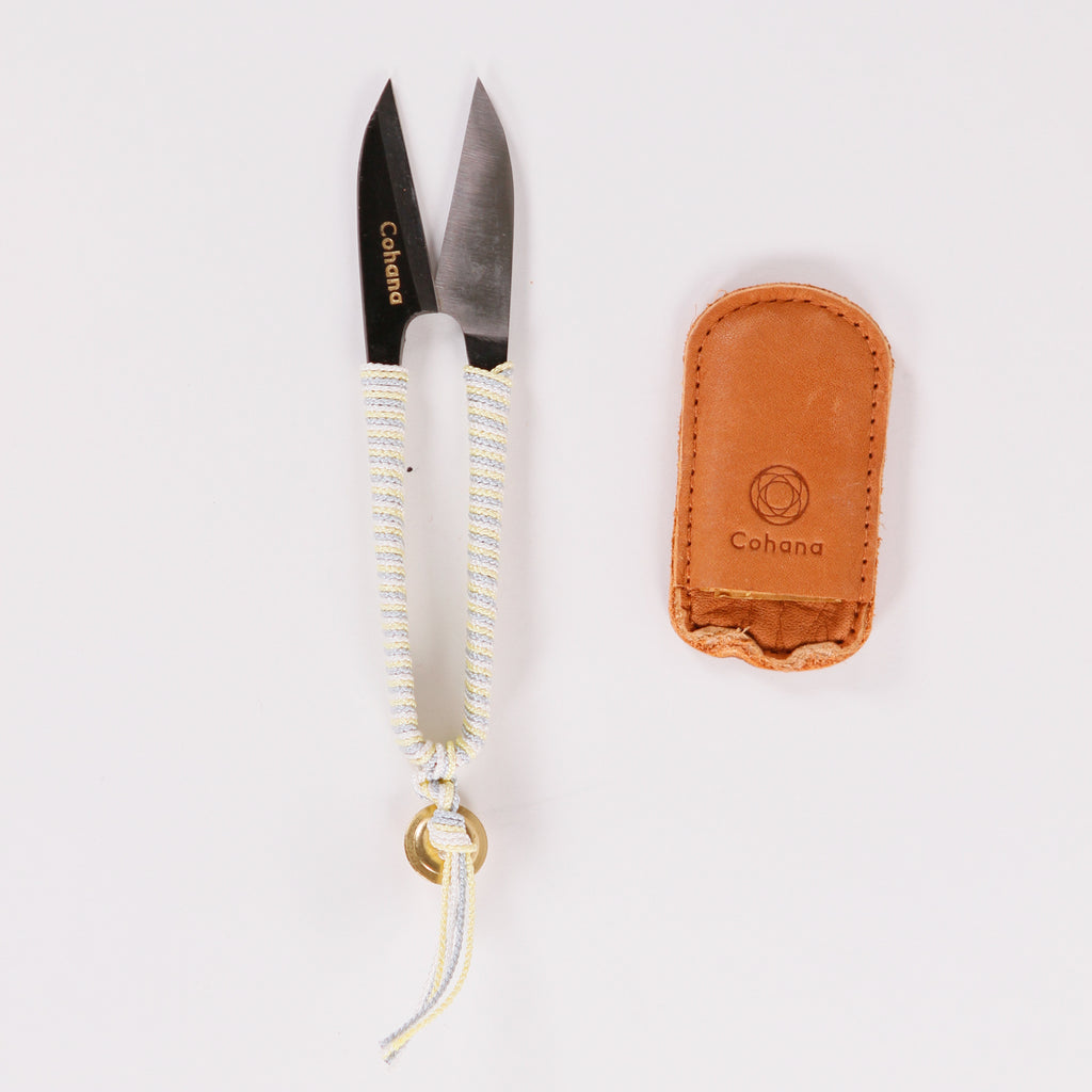 Thread Snips with Silk Braid from Cohana