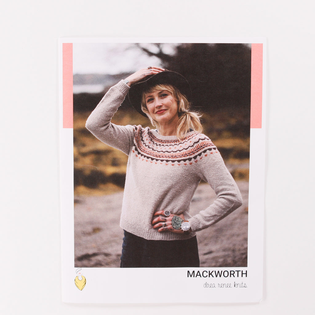 Mackworth Sweater by Andrea Mowry - Printed Pattern