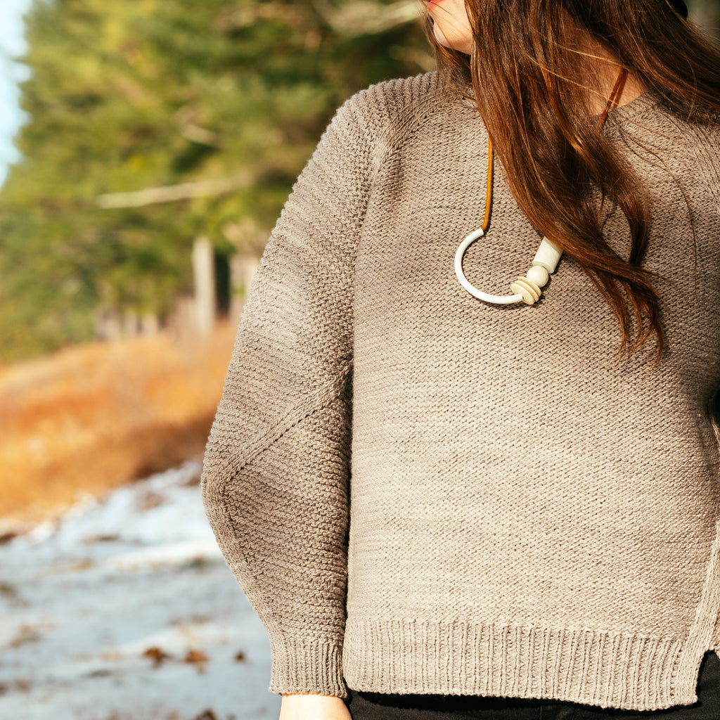 Tectonic Sweater Kit by Emily Greene