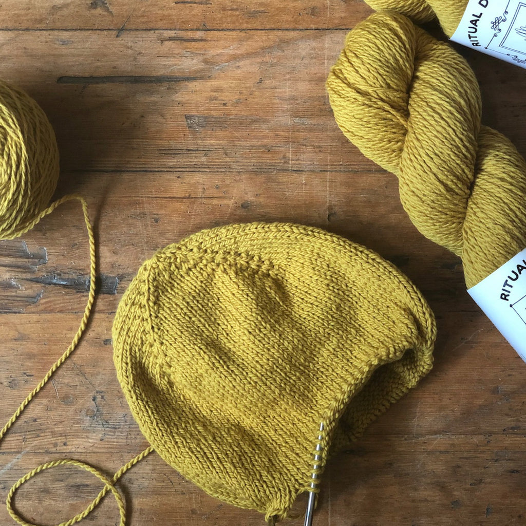 Everyday Lined Hat Kit by Denise Bayron of Bayron Handmade