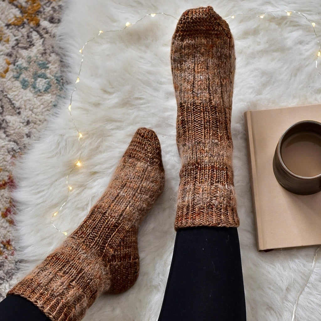 Stay Cozy Sock Kit from Tif Neilan