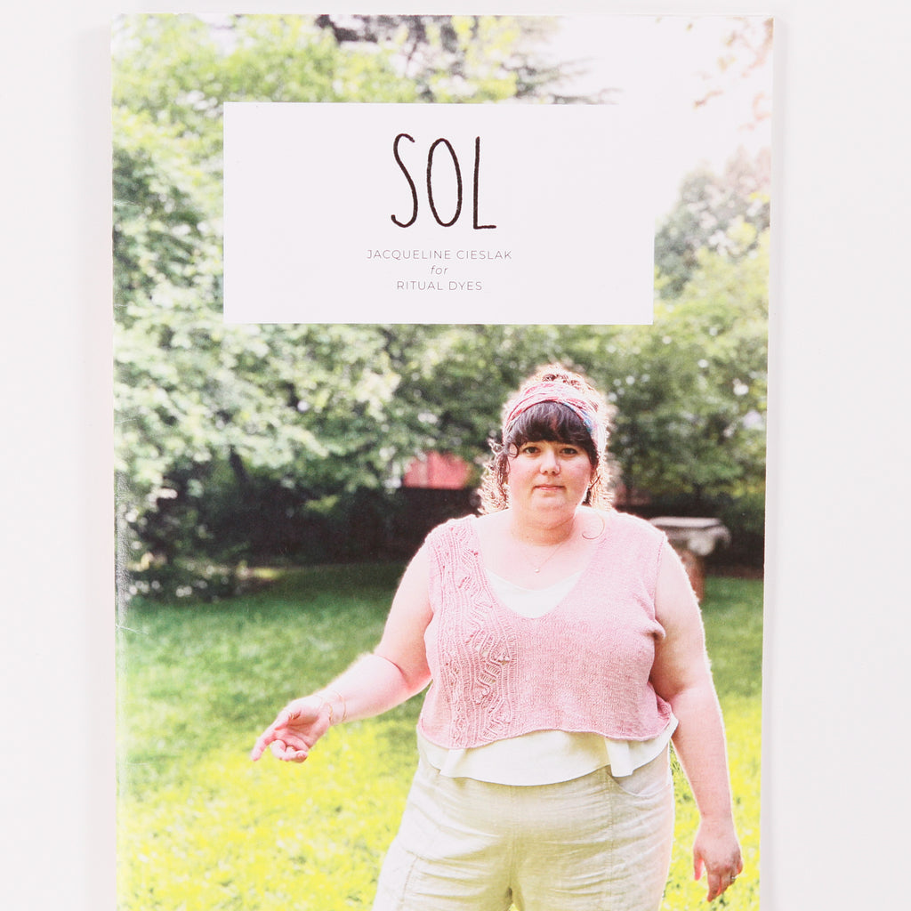 SOL Pattern Book by Jacqueline Cieslak