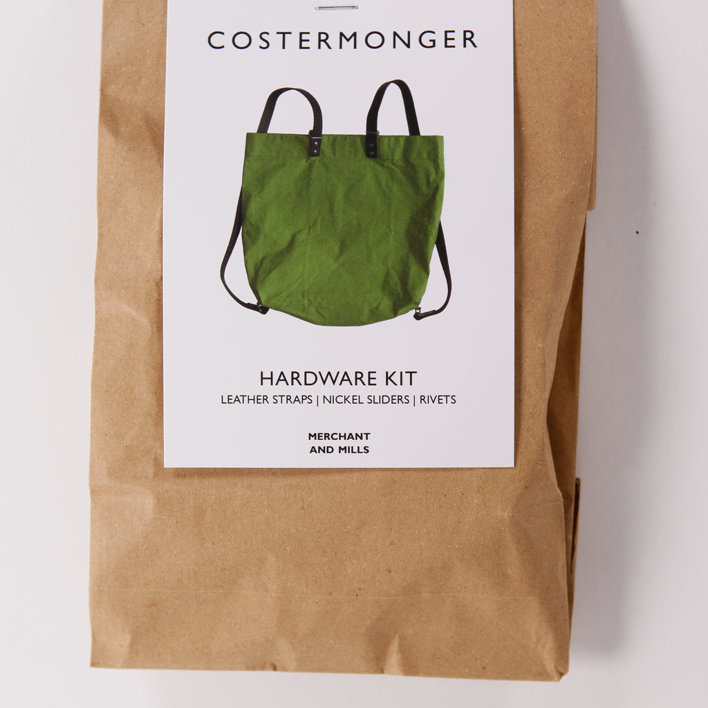 Costermonger Bag Hardware Kit from Merchant & Mills