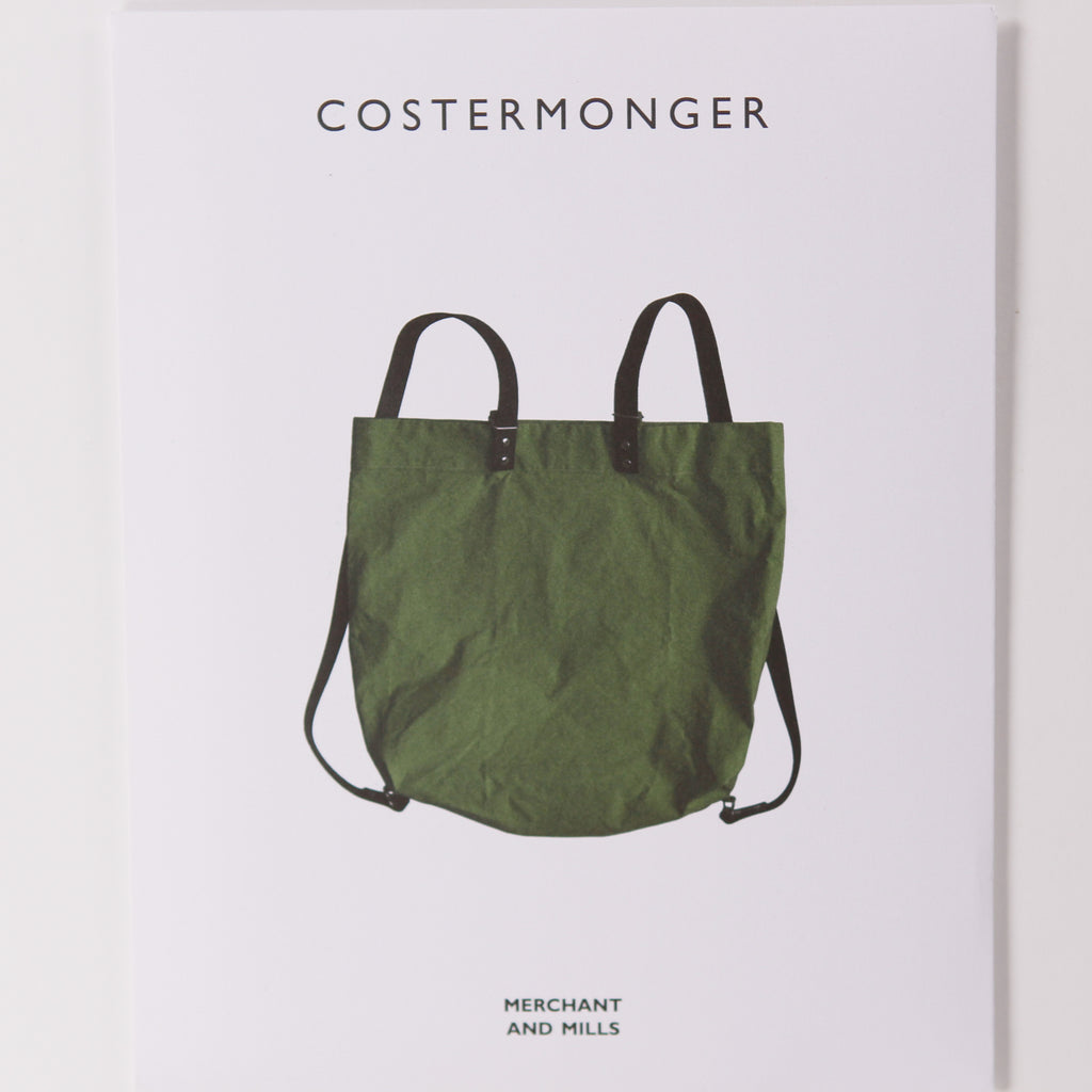 Costermonger Bag by Merchant & Mills - Printed Pattern