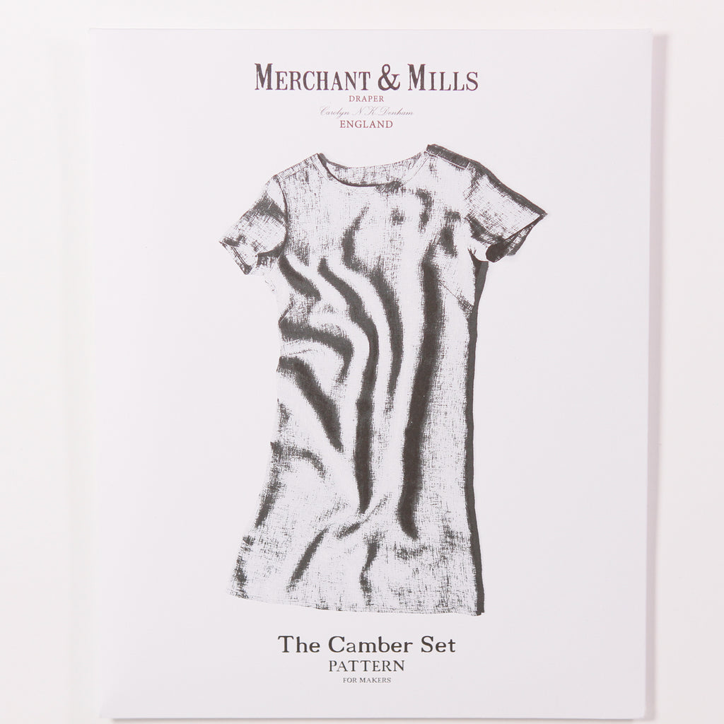 The Camber Set Pattern by Merchant & Mills - Printed Pattern