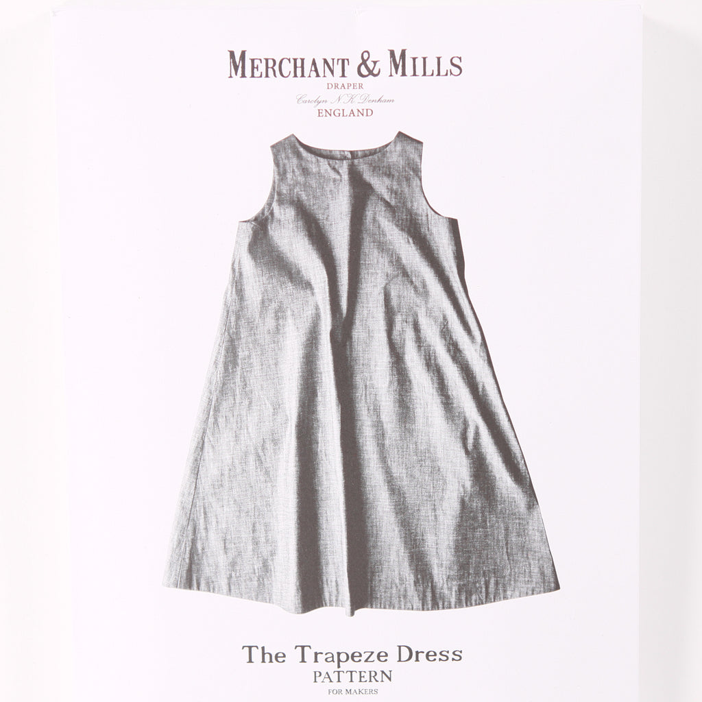 The Trapeze Pattern by Merchant & Mills - Printed Pattern