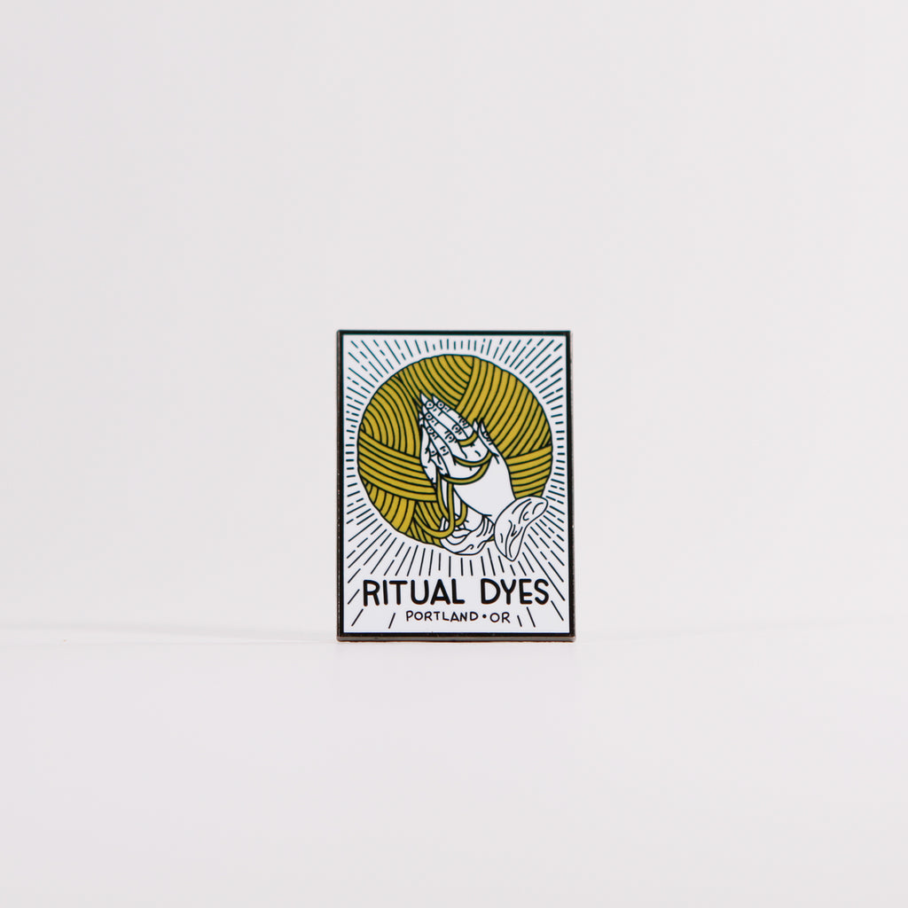 Project Prayers Enamel Pin