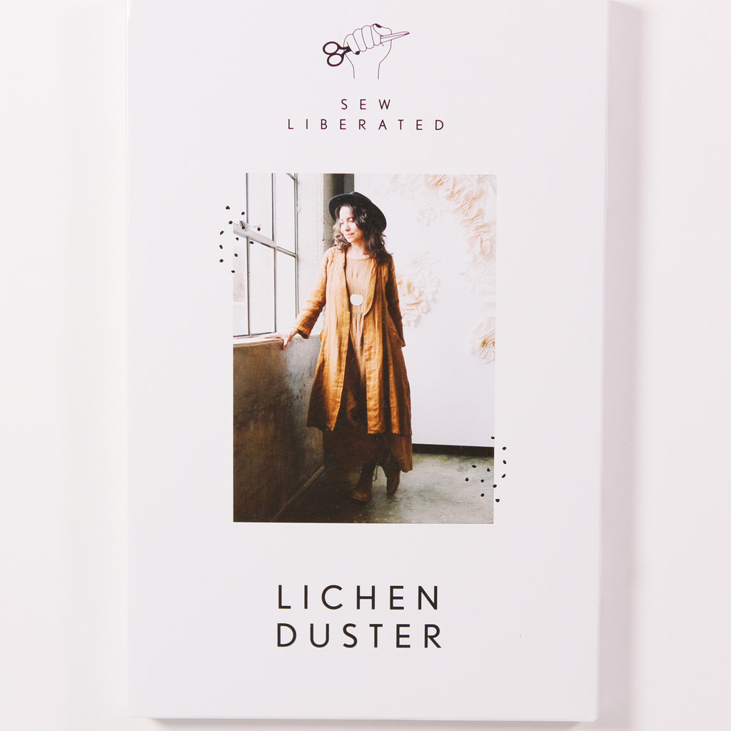 Lichen Duster by Sew Liberated - Printed Pattern