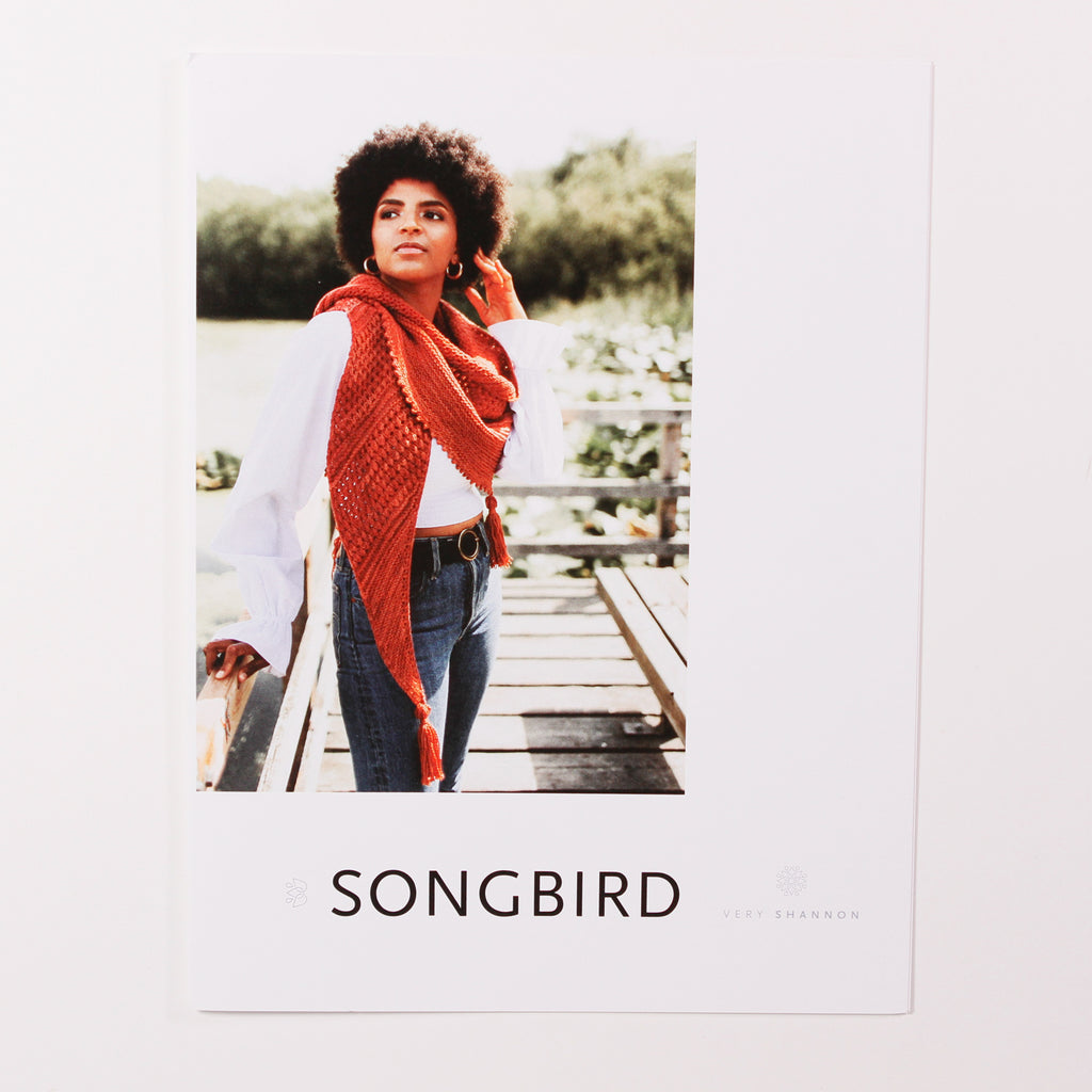 Songbird Shawl by Shannon Cook - Printed Pattern