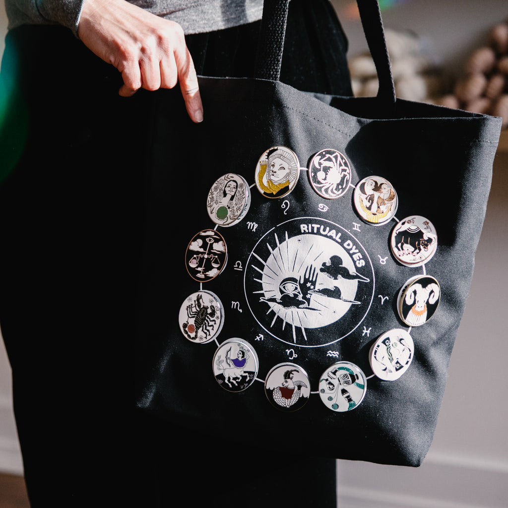 Minis & Tote Bag, Zodiac Collection Complete Set