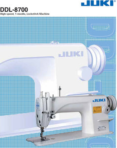 Brand New Juki DDL-8700 High-speed Single Needle Straight Lock stitch Industrial Sewing Machine with Table and Servo Motor