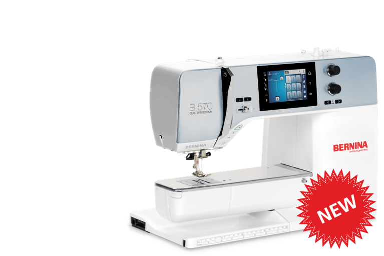 BERNINA 570 QE Comes without embroidery module