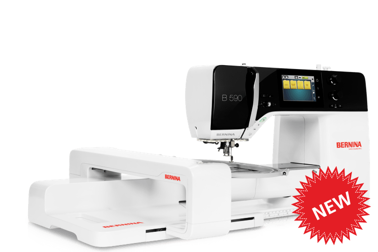 BERNINA 590 E The perfect machine for Sewists, Quilters & Embroiderers