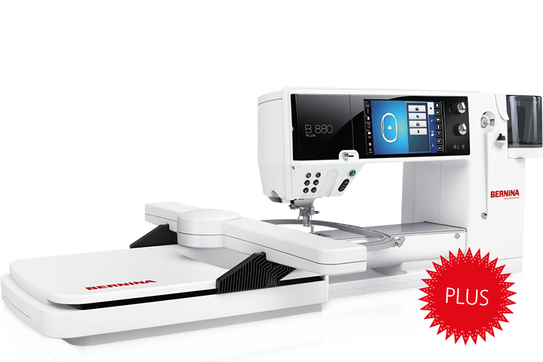 BERNINA 880 PLUS The Ultimate in Sewing, Embroidery and Quilting