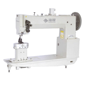 GC24698-5/-6 Long Arm High Post Bed Extra Heavy Duty Compound Feed Lock stitch Sewing Machine