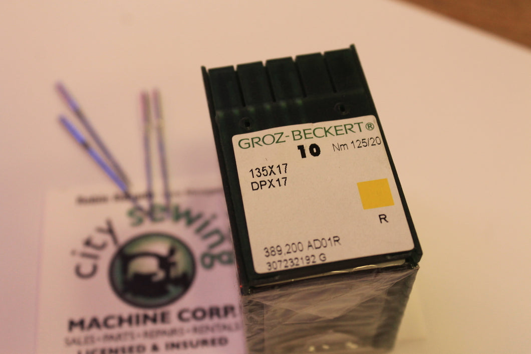 10 Groz-Beckert 135X17 DPX17 Industrial Walking Foot Machine Needles