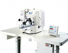 Juki 1900-BHS Computer Controlled High speed Bar tacking Industrial Machine Includes Table electronic motor.