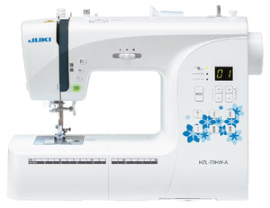 HZL-70HW-A Compact Size Computer Controlled Sewing Machine with 80 Stitch Patterns