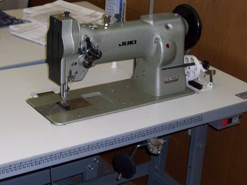 Juki LU 563 Needle Walking Foot sewing Machine.