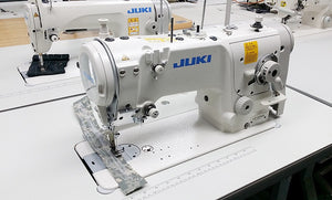 Juki LZ-2280N 5mm Zigzag Lockstitch Sewing Machine,Power Stand,servo motor
