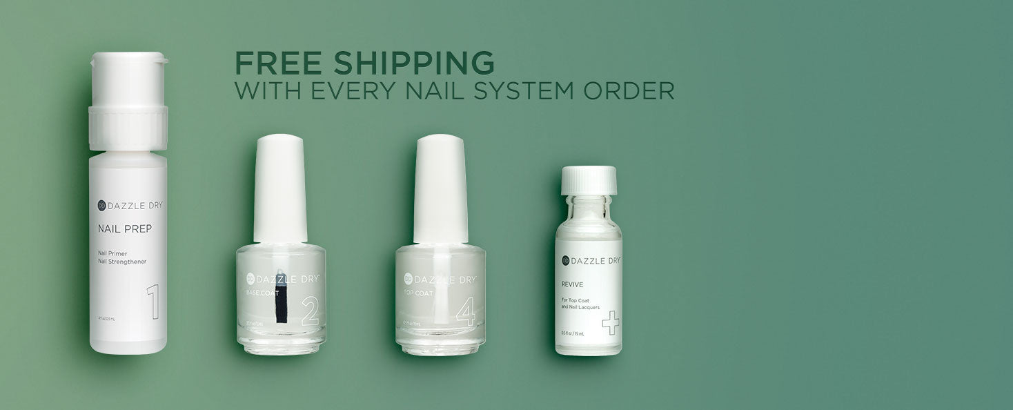 Dazzle Dry Nail System- Lacquers and Nail Care – DazzleDryNails