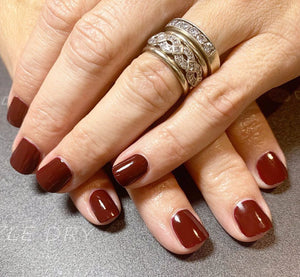 Passionate Red Nail Polish | Dazzle Dry Nail Lacquer
