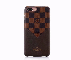 Louis Vuitton Leather Phone Case For iPhone XS