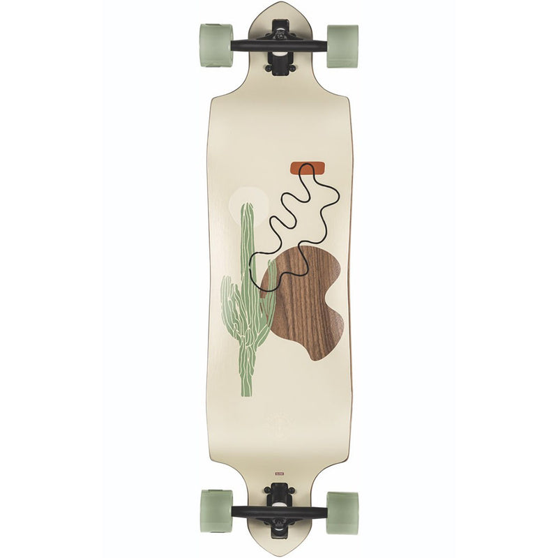 Globe Geminon Micro-Drop 34 - Drop Through Trucks Longboard Complete